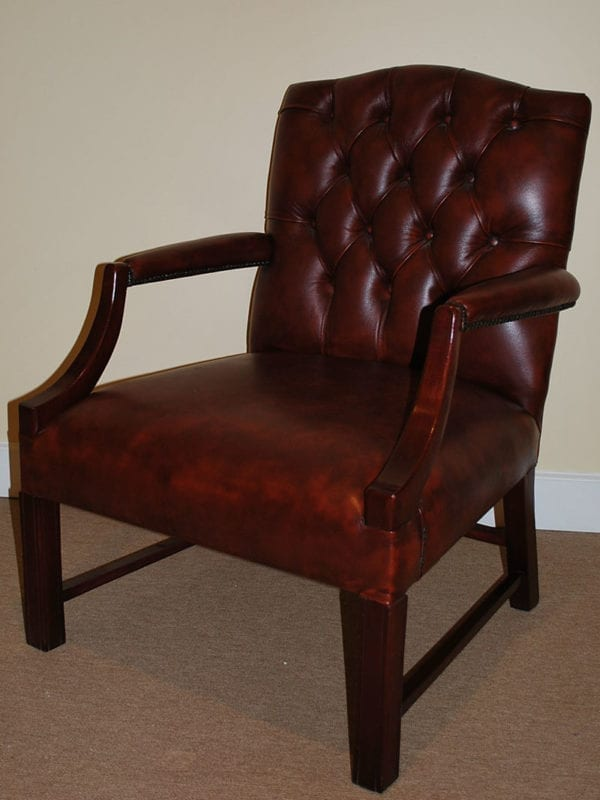 Georgian Deep Button Chair