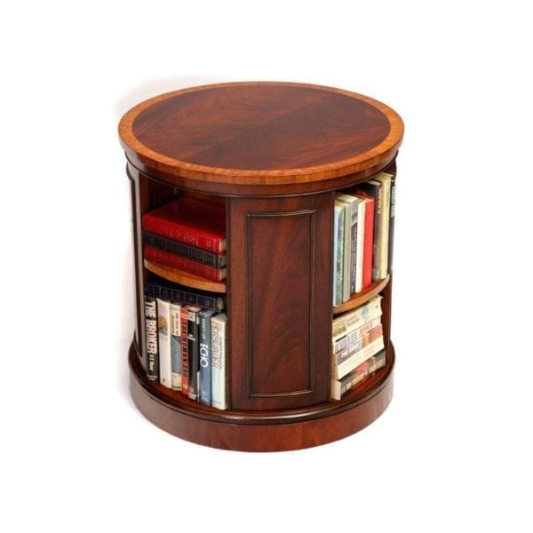 LOW REVOLVING BOOK CASE