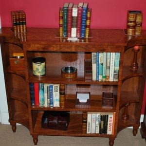 Bookcase - Open Curved Ends
