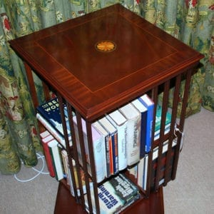 Bookcase - Revolving, square