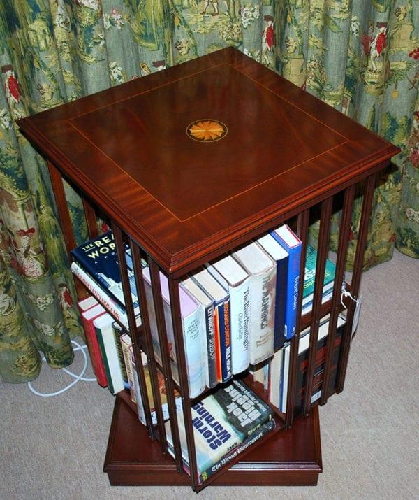 Bookcase - Revolving, square