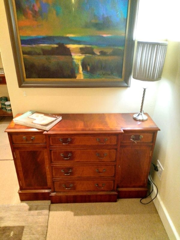 small breakfront cabinet
