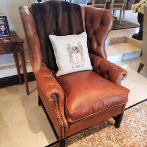 Browns Wing Chair classic furniture antique